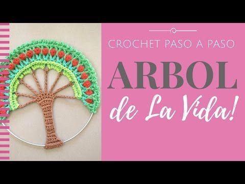Tutorial paso a paso. Como tejer a crochet un MANDALA GRANDE (26 cm o más de diámetro). Ideal para cojines, atrapasueños y decoración de tu casa. ***INSTRUCC...