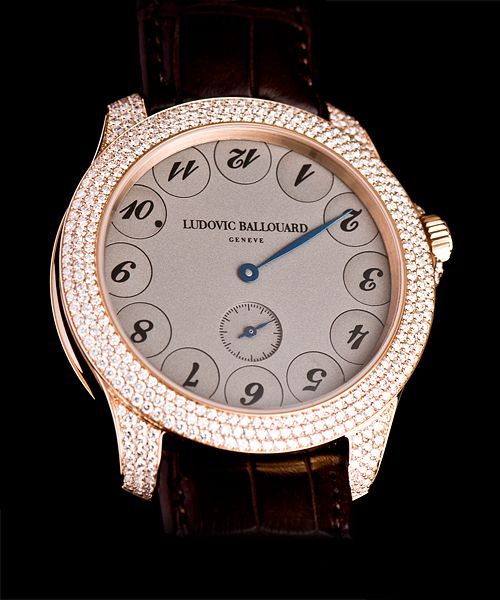 Ludovic Ballouard Upside Down 18K Rose Gold Hand Wound Available at Cellini Jewelers
