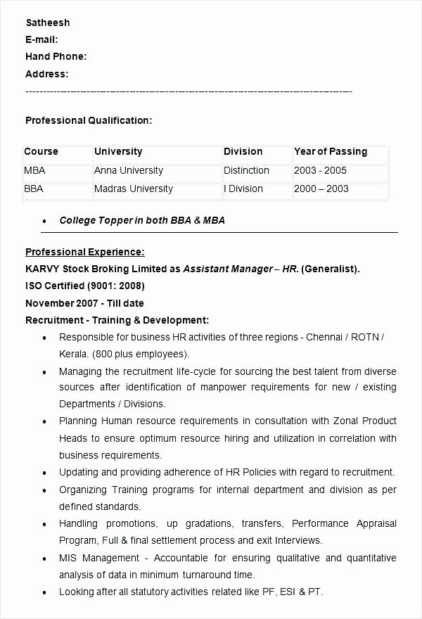 Mccombs Resume Template from i.pinimg.com