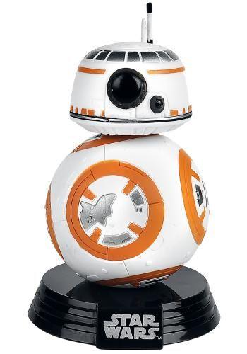 Statuetta decorativa BB-8 Droid di #StarWars del brand Funko collezione Bobble Head. Altezza: 10 cm circa. Sulla scrivania, in auto o su una mensola in bagno. Non importa dove, scegli il luogo perfetto per il tuo Funko! La statuetta viene consegnata in una speciale scatola con finestra trasparente che ne mostra l'interno.