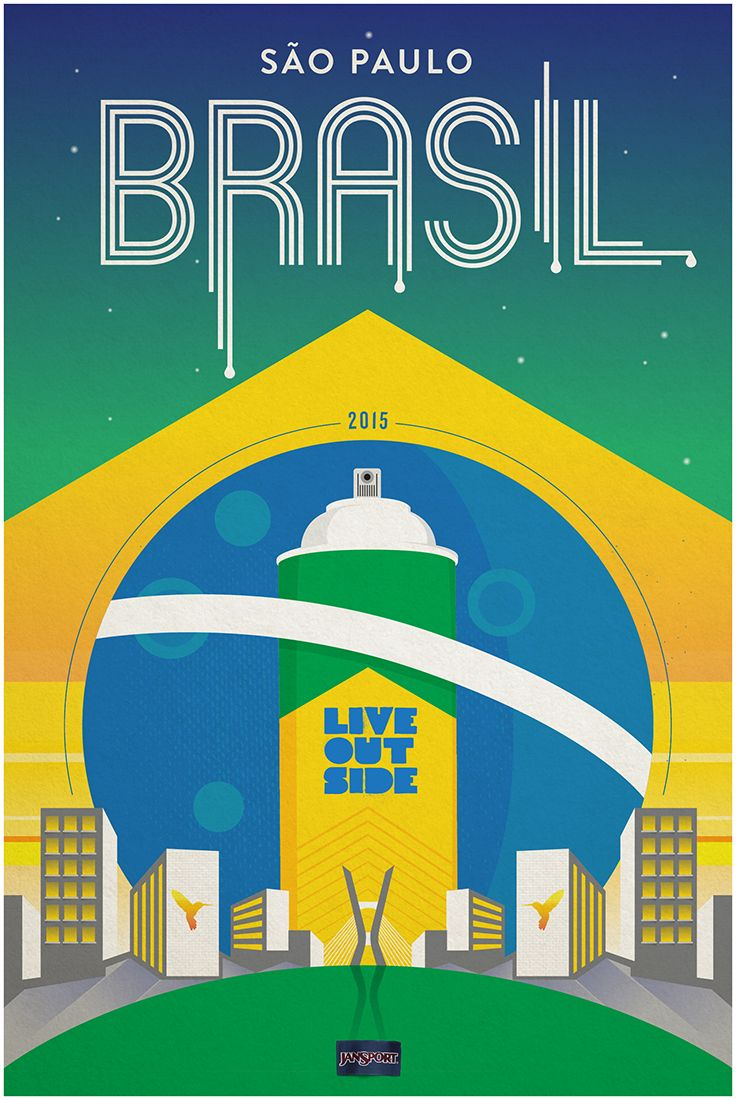 JanSport and Live Outside will head to Brasil to find a whole new group of street artists. São Paulo, get ready.