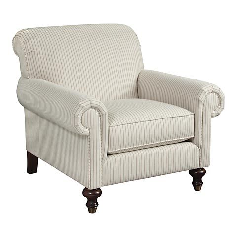 From Bassett Furniture · HGTV HOME Custom Classics Chair #bassettfurniture  #accentchair