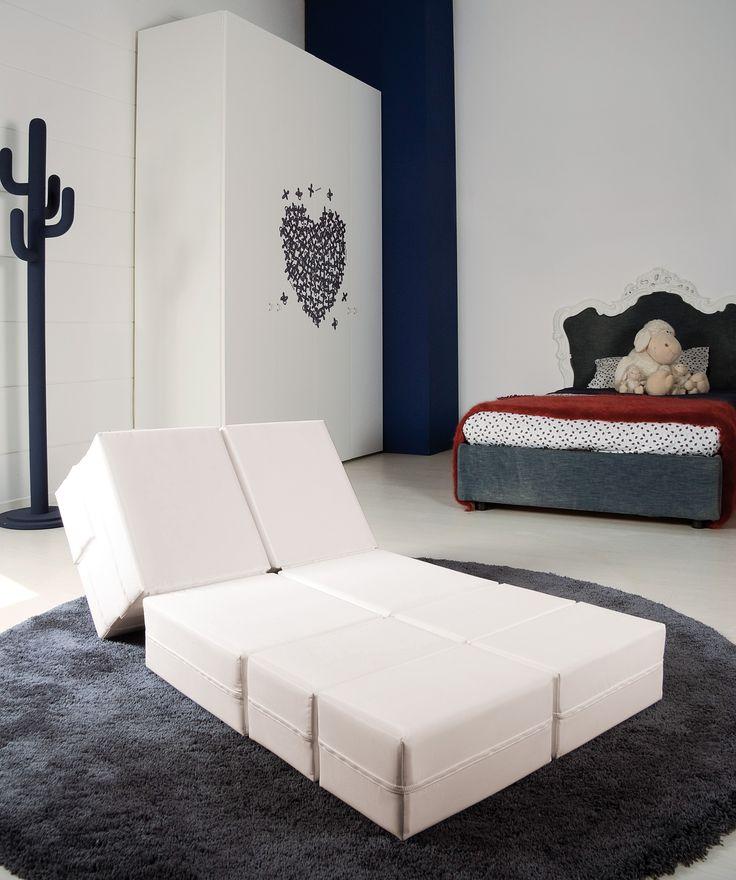 Kuboletto, #design Enzo Palmisciano, a nice idea for a #sofabed