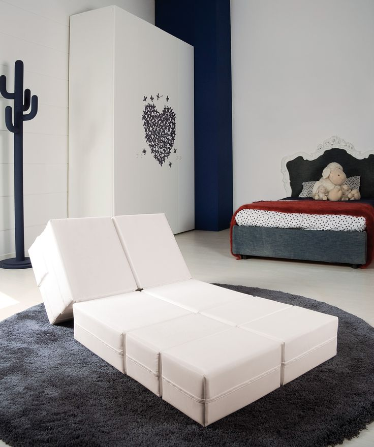 Kuboletto, #design Enzo Palmisciano, a nice idea for a #sofabed