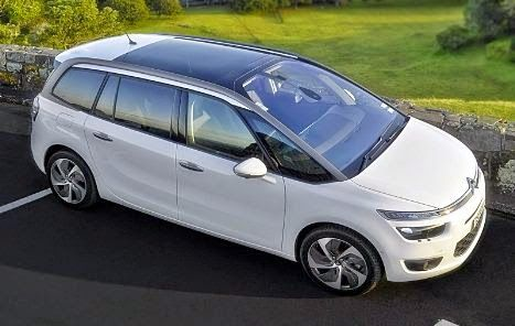 2015 citroen c4 grand picasso review price and design. Black Bedroom Furniture Sets. Home Design Ideas