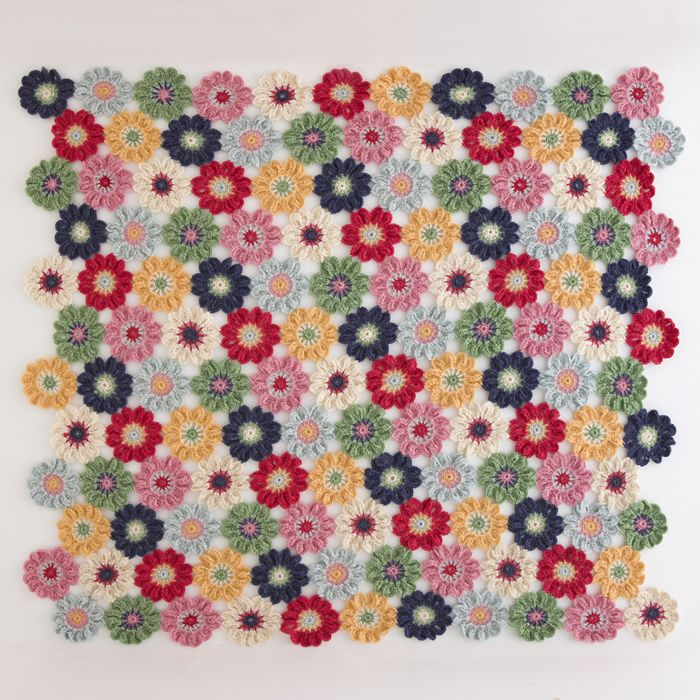 Japanese Flower Crochet Afghan Pattern : 1000+ images about Crochet Blankets and Throws on ...