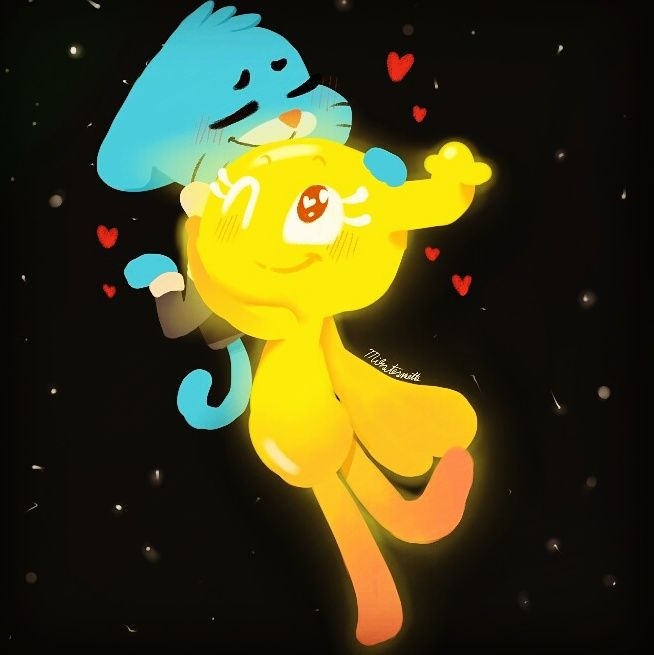 Aww They Look So Cute Together The Amazing World Of Gumball