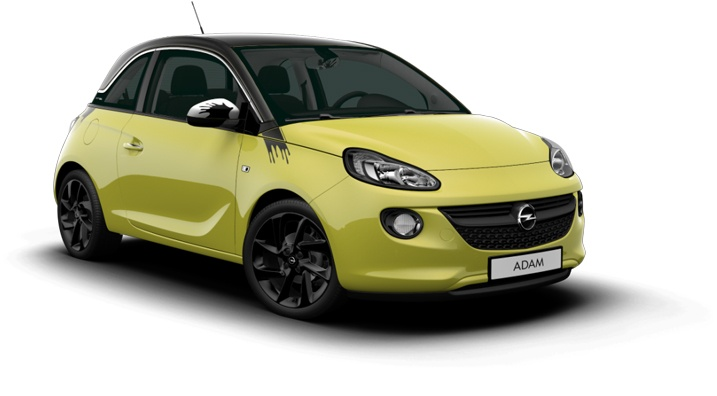 Visit http://www.opel.com/microsite/adam/#/country and choose your country to see it ;)