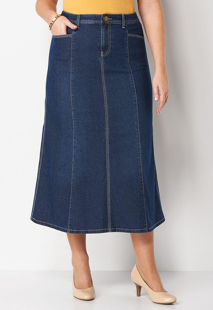 stitch denim skirt all styleschristopher