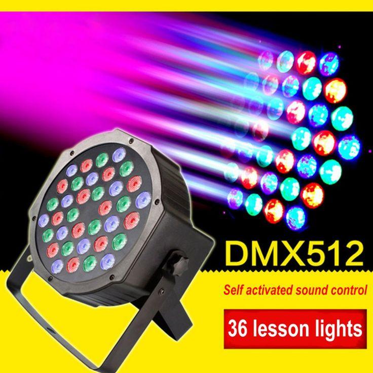 Laser Stage Light 36 LEDs Light Beads Stage Club Pub Ballroom Party Lighting Large Scale Concert EU /US Plug PAR Light Drop Ship #Affiliate