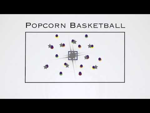 P.E. Games - Popcorn Basketball - YouTube