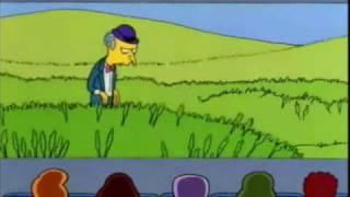 Sr Burns: Vamos a la fuente de sodas, via YouTube.