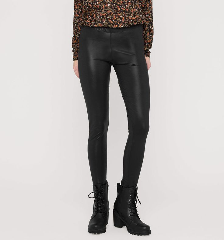 Leggings in zwart