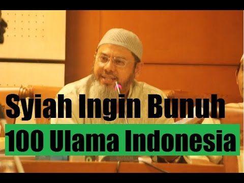 Ust Farid Oqbah: Syiah Berencana Bunuh 100 Ulama Sunny Indonesia