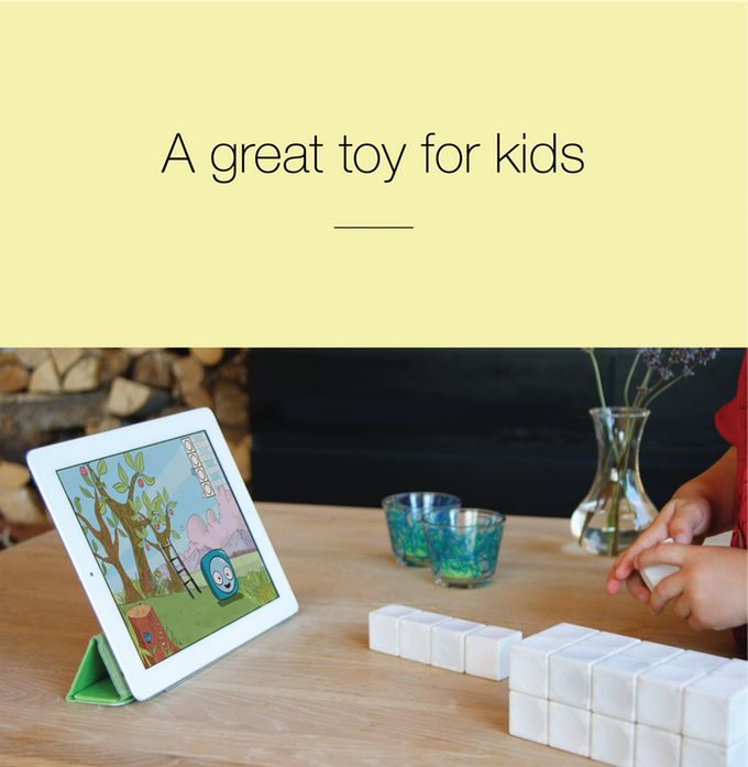 Your child will love the seamless, almost natural connection between the limitless digital world, and the amazingingly intuitive physical building blocks.