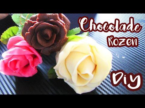 ❤❤CHOCOLADE ROZEN ZELF MAKEN | Valentijns DIY ❤❤ - YouTube