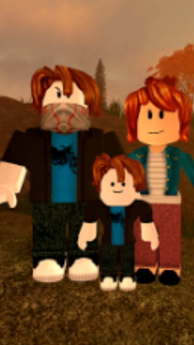 Best Bacon Hair Family Of 2018 Roblox Noob Cartoon