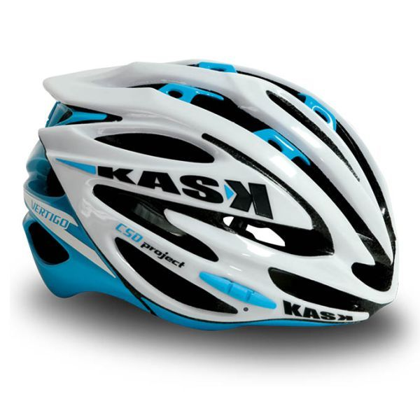 Cool cycling helmets that avoid mushroom head and make you look cool | Kask Vertigo White and Blue | Lazer Helmet, Kali Helmet, Kask Helmet