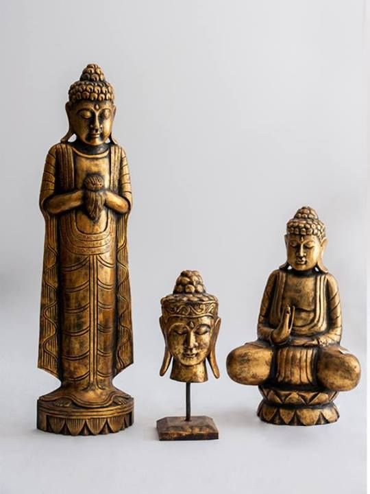 Antique Burmese Buda Statues Find more at www.decord.gr #serenity #harmony #Buddha #spiritual #objects #Bali #energy