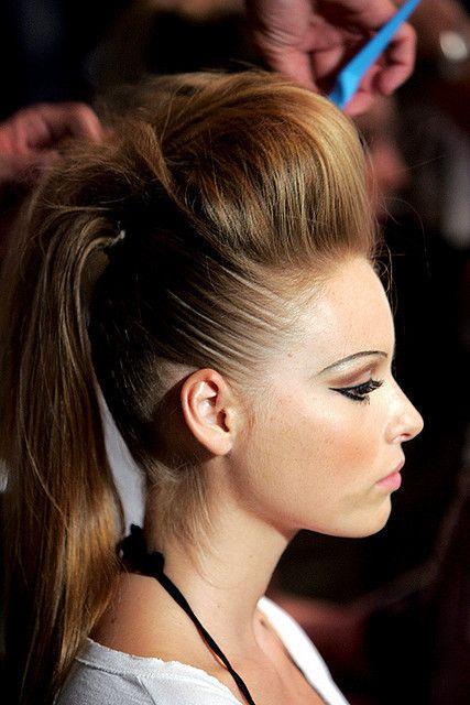 The world of fashion #ponytail