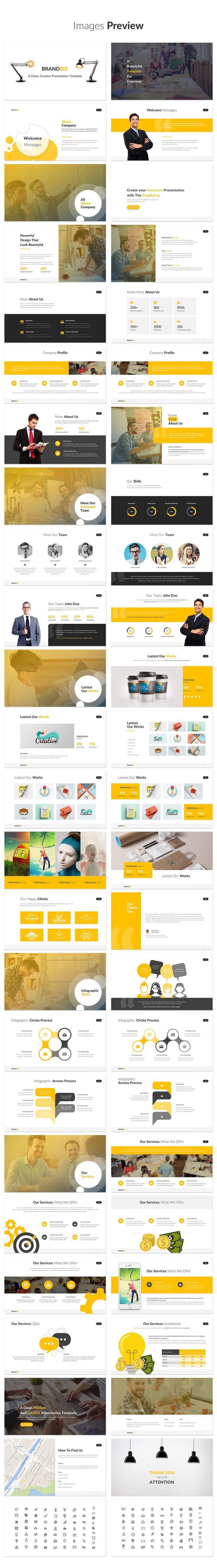 15 best ppt template images on pinterest editorial design page brandbiz powerpoint template powerpoint templates toneelgroepblik Image collections