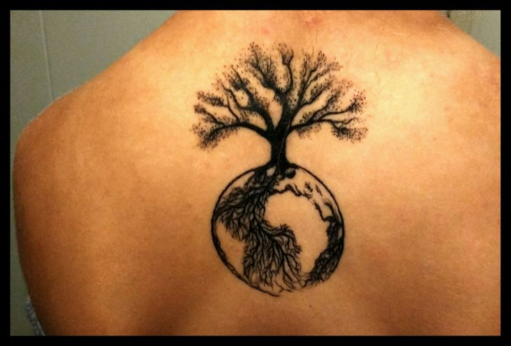 tattoo life tree earth tree of life tetování strom života