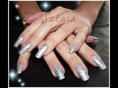 Nail Art  Comment Poser des foils TUTORIAL