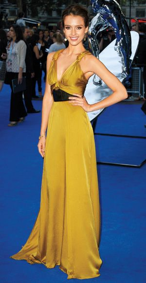 200 Celebrity Looks We Love - Jessica Alba in Gucci, 2007 from #InStyle