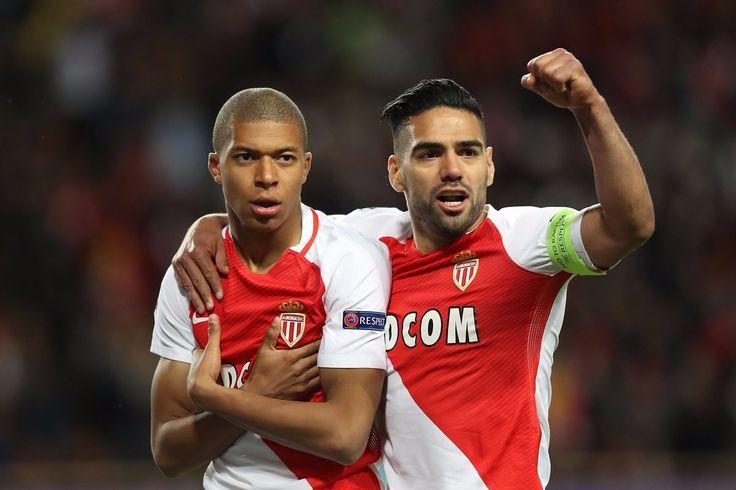 @Monaco Kylian #Mbappé et Radamel #Falcao Garcia #UCL #Monaco #Champions #LigadeCampeones #ChampionsLeague #ASMBVB #MonacoDortmund #ASMonaco  #AllezMonaco #DagheMunegu #9ine