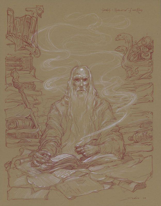 Donato Giancola - Gandalf: Revelation of the Ring