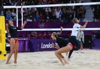 USA Beach Volleyball - Misty May-Treanor and Kerri Walsh