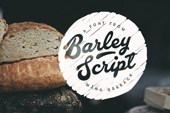 Barley Script font @creativework247