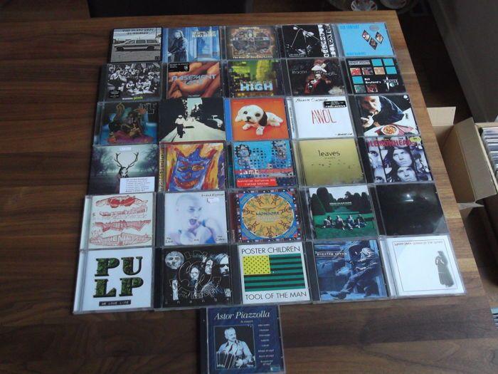 VEEL 66(!) Rock & Pop CD's Black Keys / Blauwe Nijl / Buena Vista Social Club / Bettie Serveert / lam / Osibisa / Soundgarden / Smiths / Suede / Van Halen en meer  Cd's van de volgende kunstenaars worden aangeboden (zie foto's voor titels):Bettie Serveert / Basement Jaxx / Blind Melon / Buena Vista Social Club / Blue Nile / Booth & de slechte engel / bakkers roze / Badly Drawn Boy / Glenn Branca / Steve Beresford / sleutels Black / Black orchideeën / Bad Company / Bill Bruford / stierLadera…