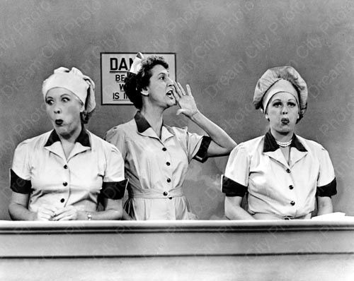 I Love Lucy (1951-57).  I cannot remember a time when this show was not a part of my TV viewing habit.  I can't think of a sitcom that's surpassed it for pure, consistent belly laughs.  Great writing, great cast, great everything.  As it was then, so it shall be now and forever, amen.