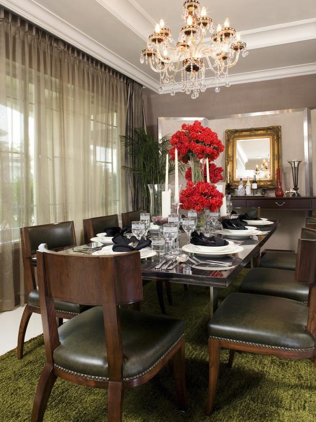 8 Elegant Victorian Style Dining Room Designs