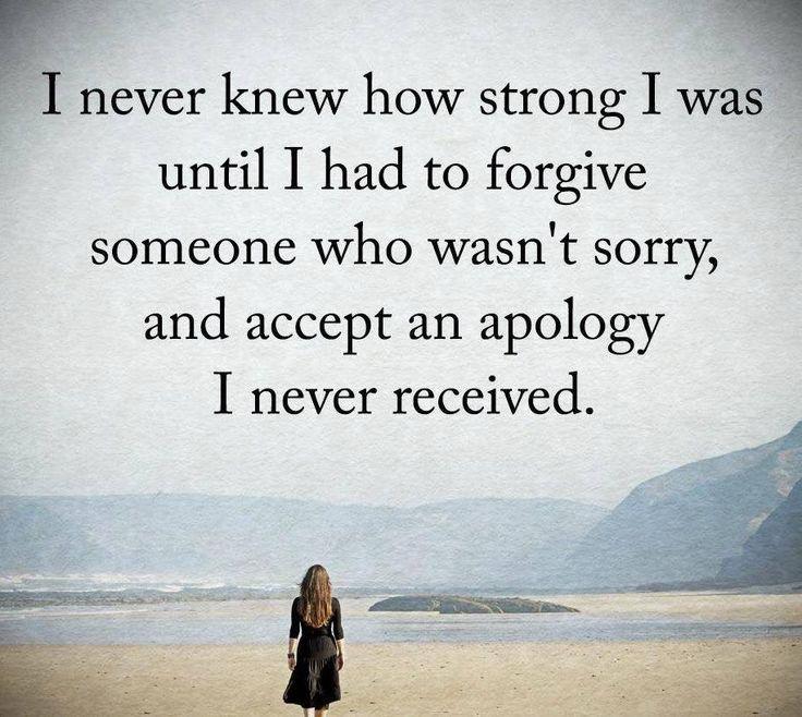 forgive someone lied