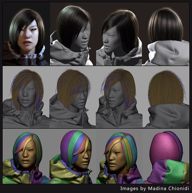 GMH2 for Maya Hair ScriptComputer Graphics & Digital Art Community for Artist: Job, Tutorial, Art, Concept Art, Portfolio