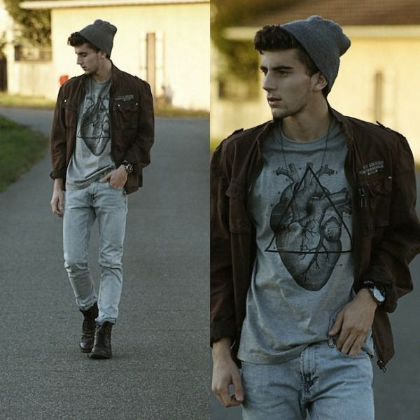 Street Style Mens Fashion Trends Fall 2012 The Boho Chic
