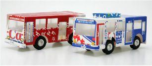 バス できあがりmilk carton bus :)