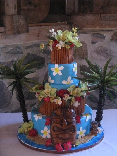 polynesian wedding By mapuce on CakeCentral.com