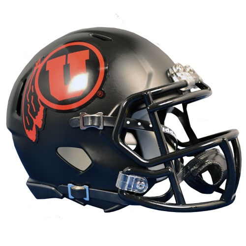Check out the new Blackout Game Helmet for the upcoming Utah Utes 2012 Blackout Game Oct. 27th against the Cal Bears!