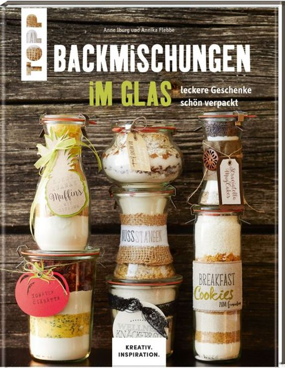 """Blog-Review von """"designbygutschi.blogspot.de"""" zum TOPP-Titel """"Backmischungen im Glas"""": https://www.topp-kreativ.de/backmischungen-im-glas-8015.html #topp #frechverlag #diy #basteln #backen"""