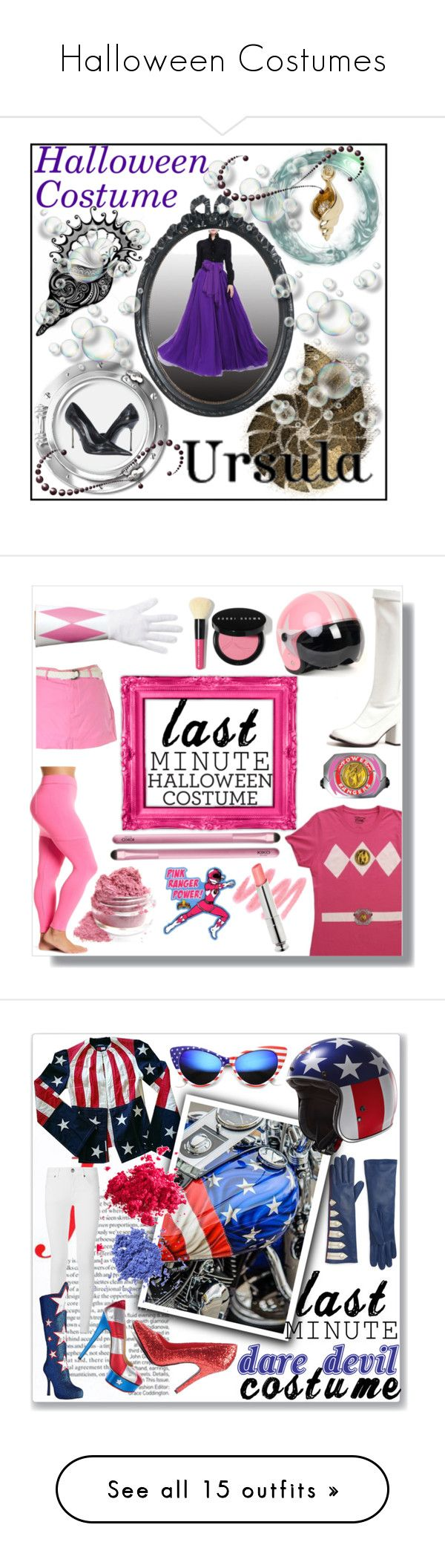 Halloween Costumes by amber-south-brink on Polyvore featuring Links of London, halloweencostumes, lastminutecostume, Magid, Abercrombie & Fitch, Power Rangers, Bobbi Brown Cosmetics, Burberry, AGNELLE and Ellie Shoes