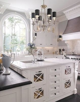 Pretty Kitchen: Interior, Window, Kitchen Design, Dreamkitchen, Dream Kitchens, White Kitchens