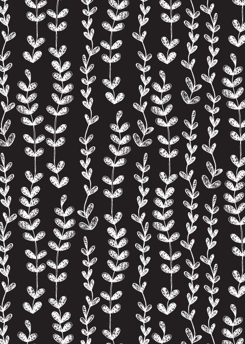 Emma Frances Designs: A bit of black and white - Sketched Vines
