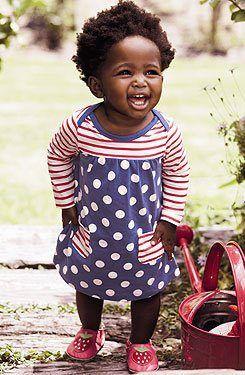 The joy shines through ... precious child