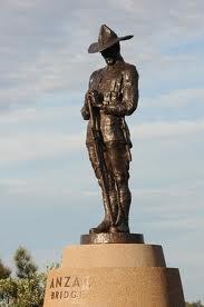 April 2008, NZ soldier statue, ANZAC Bridge