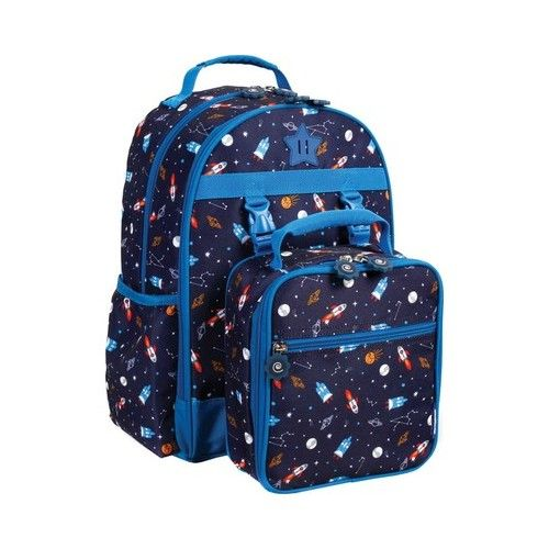 259ae0fbd7fd Children s JWorld New York Duet Backpack   Detachable Lunch Bag - Spaceship  Commuter in 2019