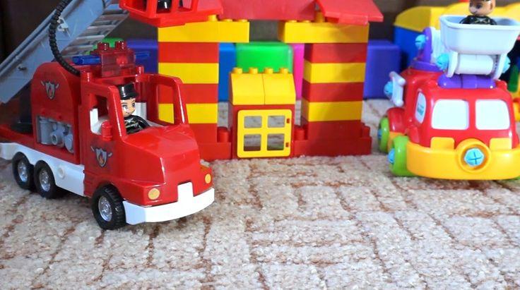 Мультик про Пожарные машины. Специальные машины. Игрушки для детей