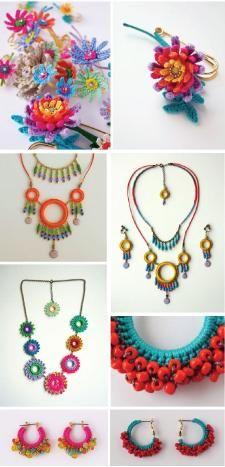flower jewelry Ideas, Craft Ideas on flower jewelry
